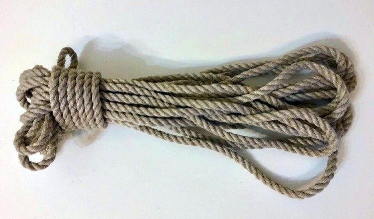 льняная веревка для шибари