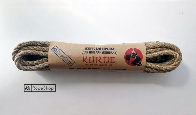 Веревка для шибари кинбаку Korde Европа