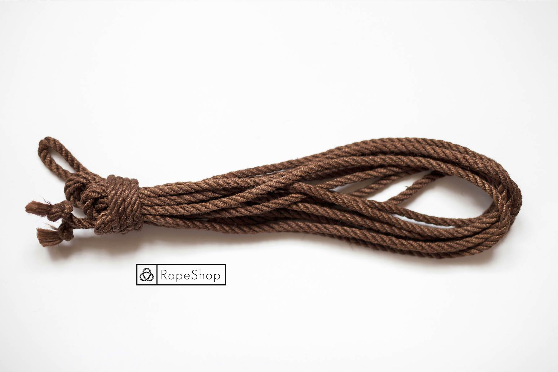 Джутовая веревка для шибари Korde-choklad