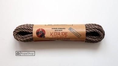 веревка для шибари Korde-light-gray