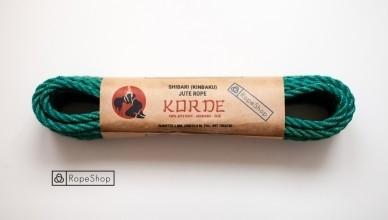 веревка для шибари Korde-turquoise