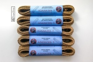 комплект веревок для шибари asanawa-5-start