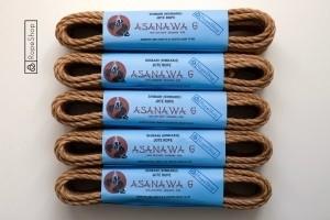 Комплект веревок для бондажа шибари Asanawa 6 (5 штук) Japan