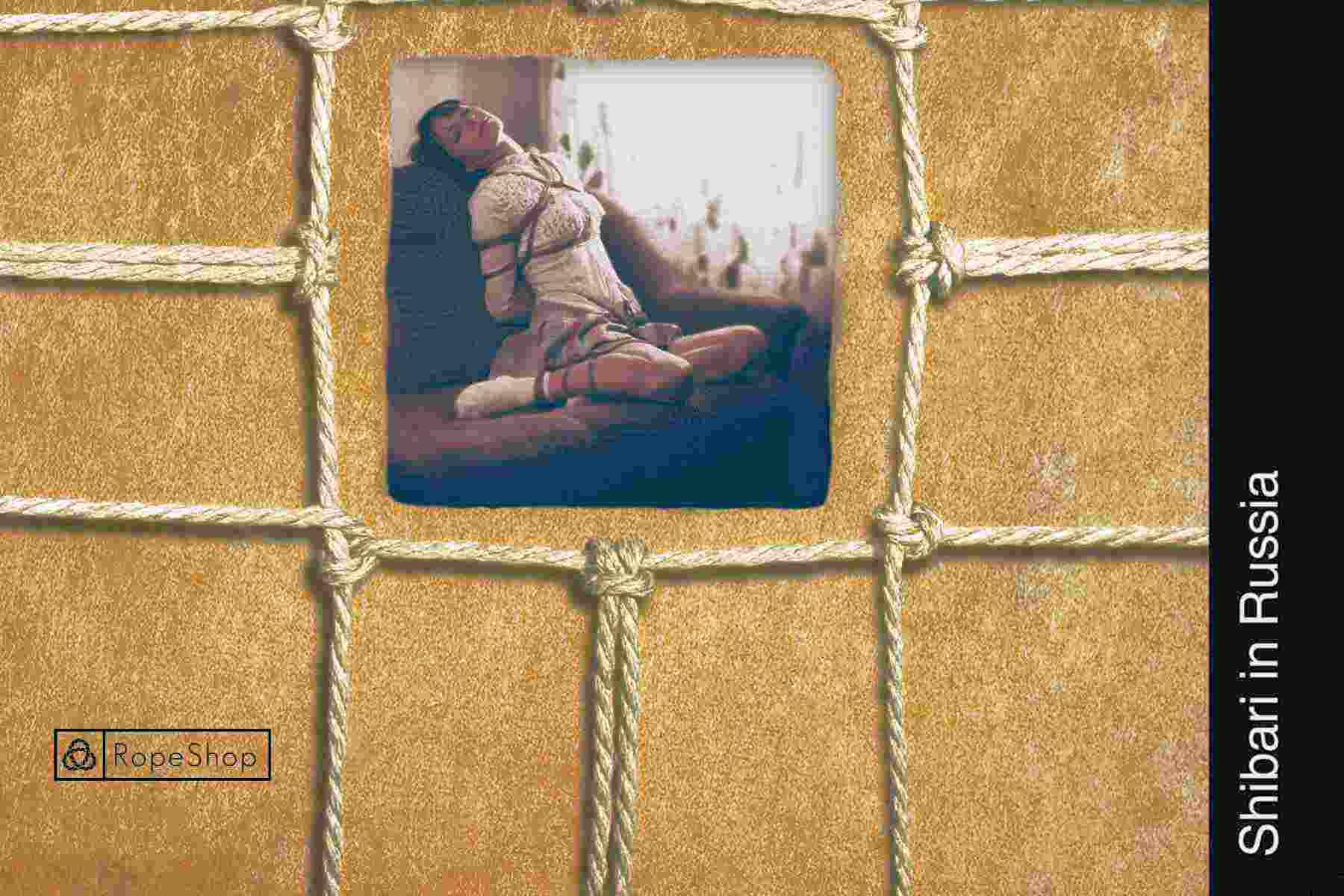 Книга «Shibari in Russia». Альбом с фотографиями.