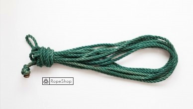 веревка для шибари korde-green