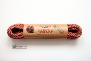 Веревка для шибари джутовая Korde (EU) обработанная, светло-розовая