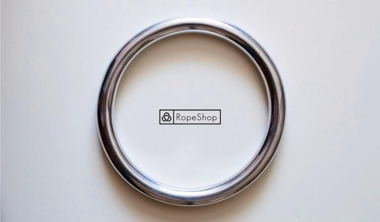 алюминиевое кольцо для шибари