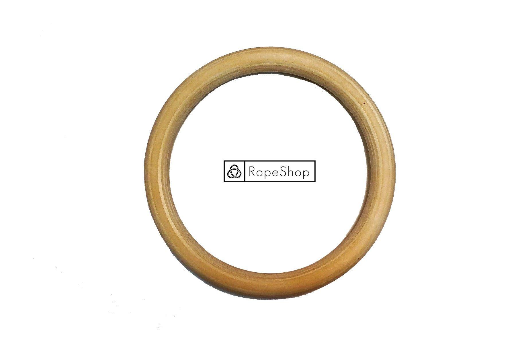 Кольцо бондажное, деревянное, 30 см