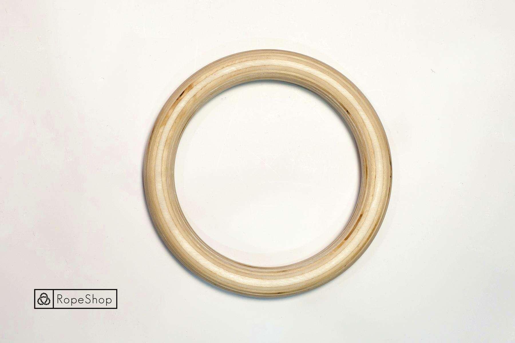 Кольцо бондажное, деревянное, 21 см